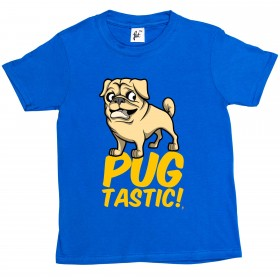 Kid's Pugtastic T-Shirt (Available in 6 colours)
