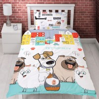 Secret Life Of Pets Reversible Single Duvet Set