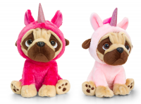 Unicorn Pug Plush Toys (Available in 2 colours)