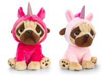 Unicorn Pug Plush Toys (Available in 2 colours)
