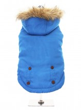 Urban Pup Blue Fleece Lined Coat