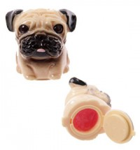 Strawberry Pug Lip Gloss