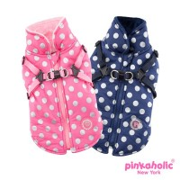 Pinkaholic New York Dotty Coat (Available in 2 colours)