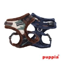 Puppia Fleece Lined Corporal  Harnesses (Available in 2 colours)