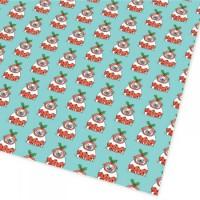 Bah Hum Pug Christmas Gift Wrap Sheets By Gemma Correll