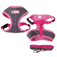 Dog Brothers Pink Striped Harness