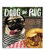 Doug The Pug Mini Wall 2018 Calendar