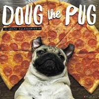 Doug The Pug Wall 2018 Calendar 18 Month
