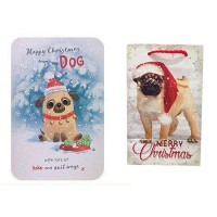 From The Pug Gift Wrap Set