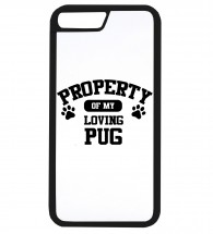 Property Of My Pugs iPhone Cover