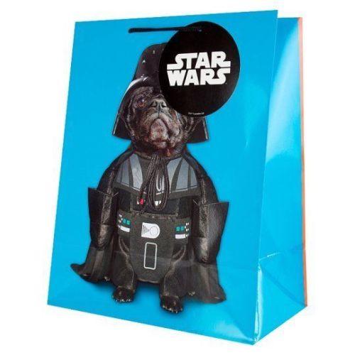 Large Star Wars Pug Gift Bag Yoda Amp Darth On Each Side I