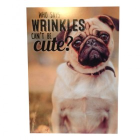 Cute Pug Card