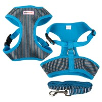 Dog Brothers Blue Striped Harness