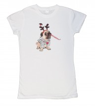 Childs Cute Christmas T-Shirt (Ages 1 years -14 years)