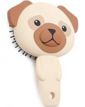 Pug Hairbrush