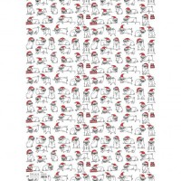 Santa Pug Christmas Gift Wrap Sheets By Gemma Correll