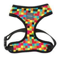 FuzzYard Multi Coloured Squares  Harness