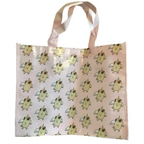 Flying Unicorn Pug Tote Bag