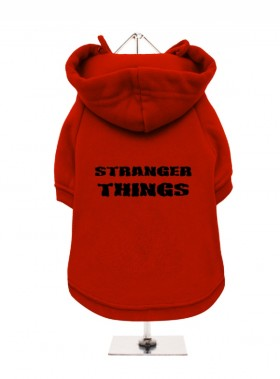 Stranger Things Fleece Lined Hoodie