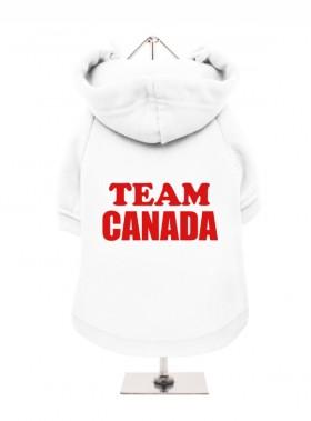 Team Canada Fleece Lined Hoodie