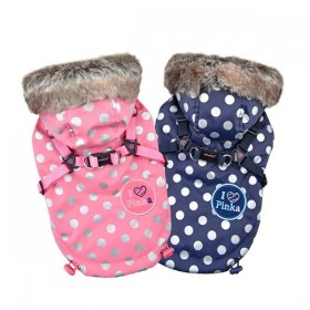 Pinkaholic New York Xandu Dotty Coat (Available in 2 colours)