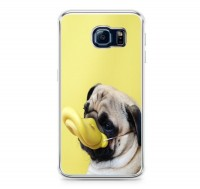 Funny Pug Duck Galaxy Cover