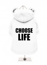 Choose Life Fleece Lined Hoodie