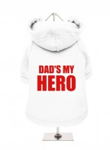 Dads My Hero Fleece Lined Hoodie (Available in 7 colours)