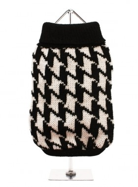 URBAN PUP DOGTOOTH  SWEATER