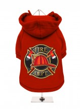 Fire Department Fleece Lined Hoodie