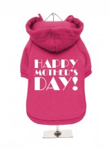 Happy Mothers Day Fleece Lined Hoodie (Available in 2 colours)