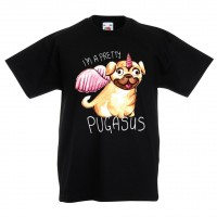 Cute Kids Pug T Shirt