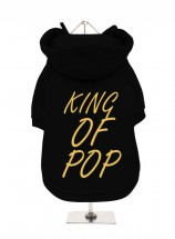 King Of Pop Fleece Lined Hoodie (Available in 2 colours)