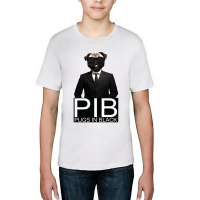 Pug In Black T-Shirt