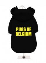 Pugs Of Belgium Fleece Lined Hoodie