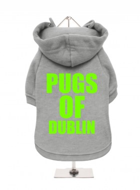 Pugs Of Dublin Fleece Lined Hoodie (Available in 4 colours)