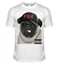 Pugs With Attitude  Kids T Shirt
