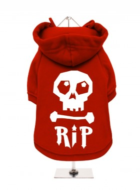 Skull Fleece Lined Hoodie (Available in 4 colours)