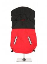 Urban Pup Black & Red Windbreaker Jacket