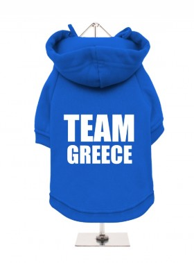 Team Greece Fleece Lined Hoodie (Available in 2 colours)