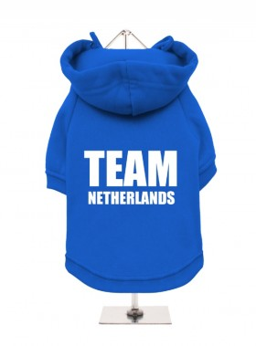 Team Netherlands Fleece Lined Hoodie (Available in 3 colours)