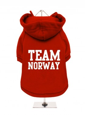 Team Norway Fleece Lined Hoodie (Available in 2 colours)