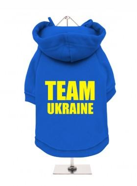 Team Ukraine Fleece Lined Hoodie