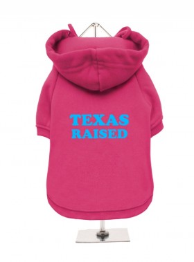 Texas Raised Fleece Lined Hoodie (Available in 3 colours)