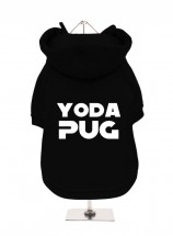 Yoda Pug Fleece Lined Hoodie (Available in 5 colours)
