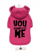 You Complete Me Jerry Maguire Fleece Lined Hoodie (Available in 2 colours)