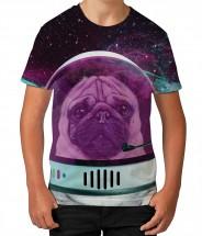 Child's Astro Pug T Shirt