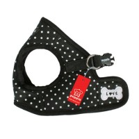Puppia Black Dotty  Harness Jacket
