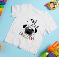 I Try To Be A Unicorn Kids T Shirt