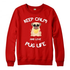 Kids Funny Pug Sweater (Available in 3 colours)